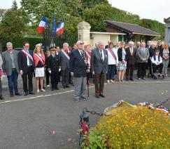 Commémoration libération de la ville