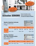 Horaires du secteur animation seniors