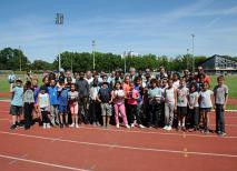 Rencontre départementale de rugby scolaire