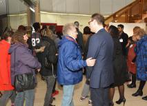 Rencontre conviviale et temps d'échanges avec le maire et les élus
