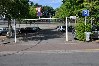 Parking rue de l'Oise